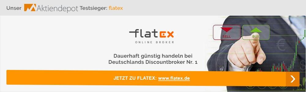 Jetzt Aktienepot bei flatex anlegen