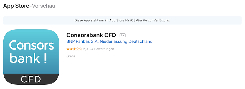 Consorsbank App Download