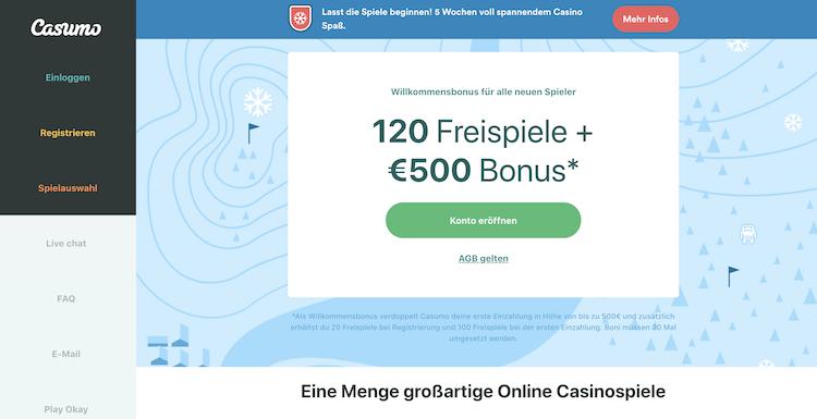 Casumo Bonus Online Glücksspielindustrie